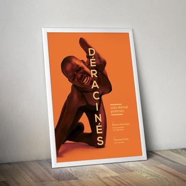 Déracinés | affiche + flyer