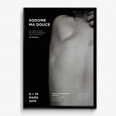 Sodome ma douce | Affiche + Flyer