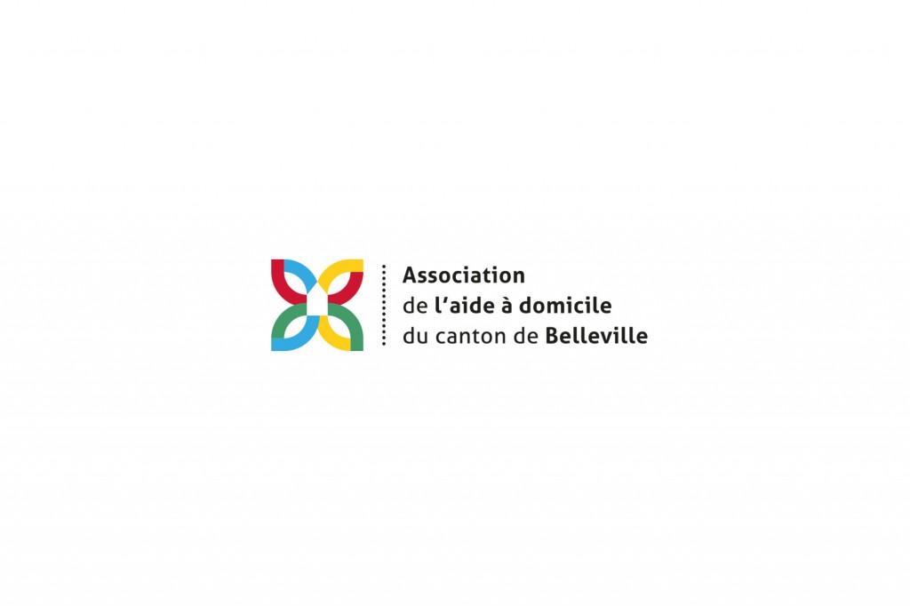 Communication visuelle, graphiste lyon, association de l'aide à domicile du canton de belleville