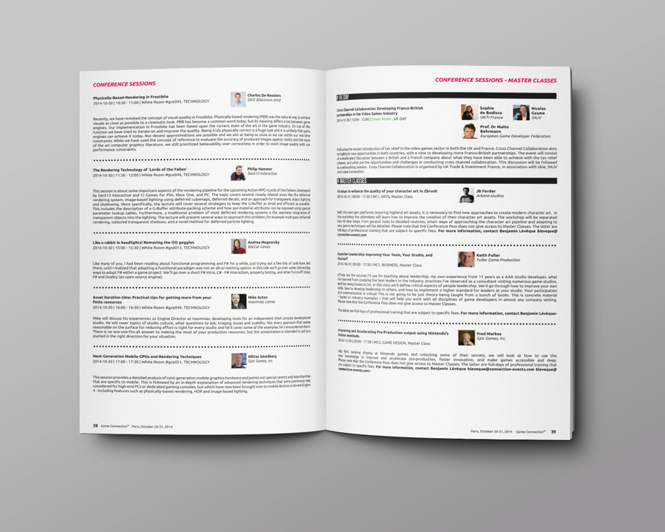 graphiste freelance lyon, programme, mise en page