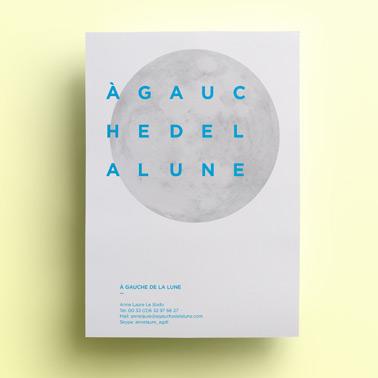 À Gauche de la Lune | Brochure
