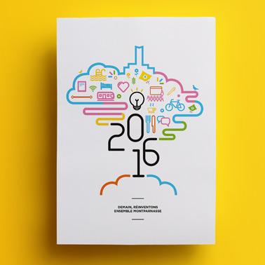 Icade Montparnasse | Carte de vœux 2016
